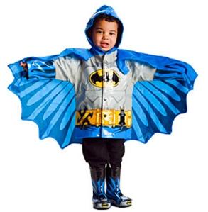 batman raincoat - superhero raincoat