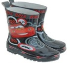 cars red boots