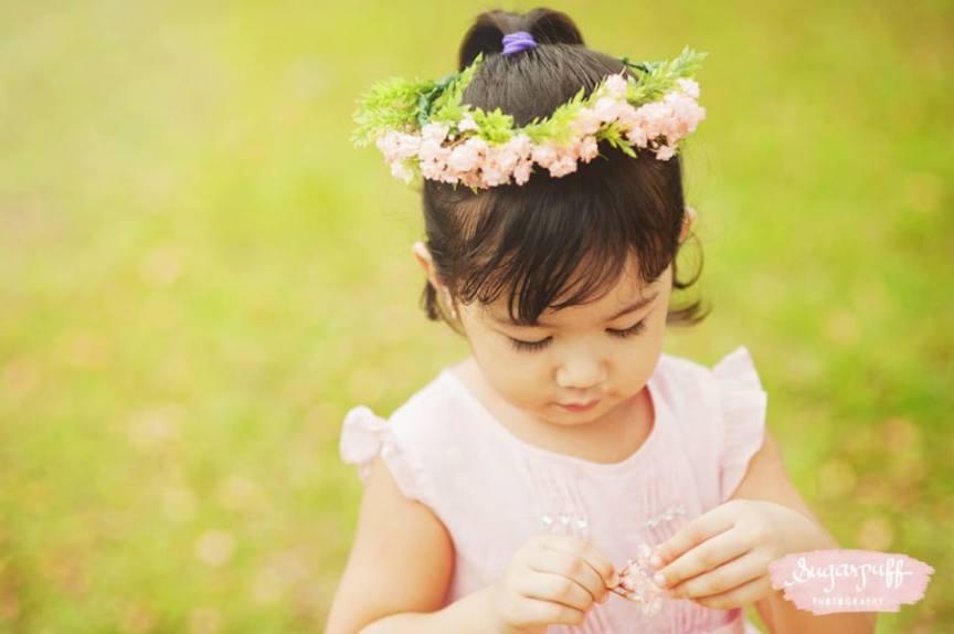 Kiddie Flower Crown