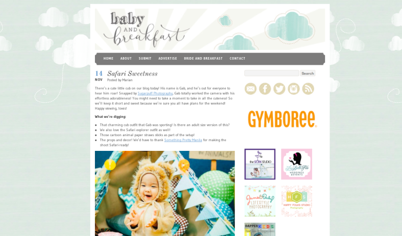 Baby and Breakfast Blog Feature | Something Pretty Manila | Kiddie Shoot Styling