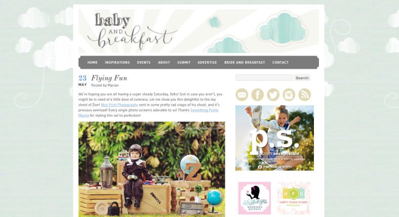 Featured Work | Baby and Breakfast | Something Pretty Manila