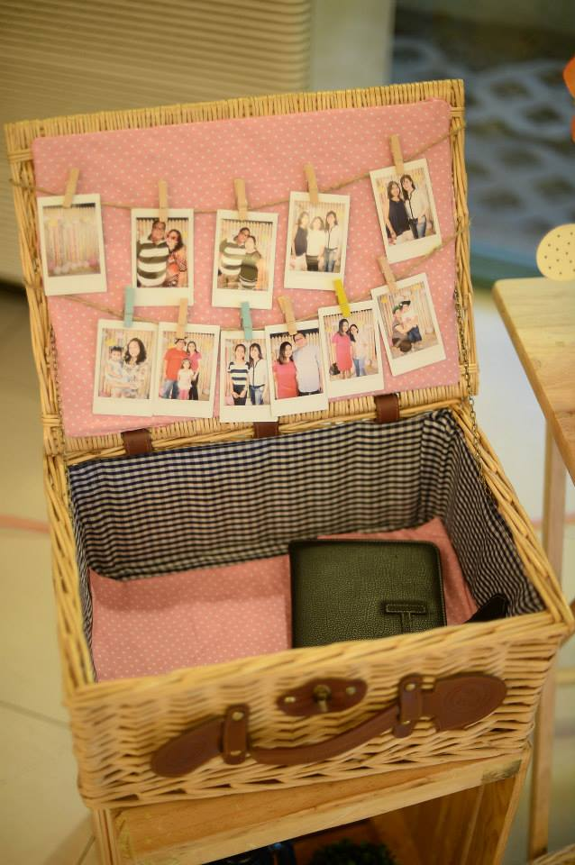Something Pretty Manila | Christening Event Styling | Polaroid Photo Booth