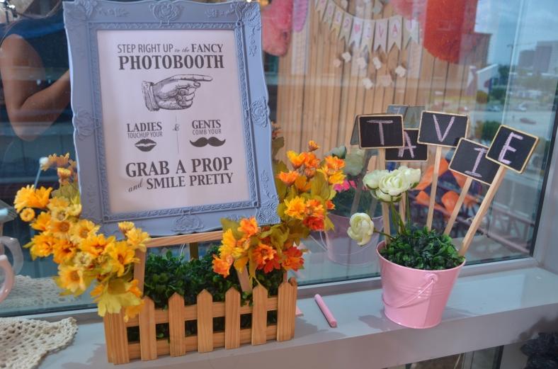 Something Pretty Manila Polaroid Photo Booth | Christening