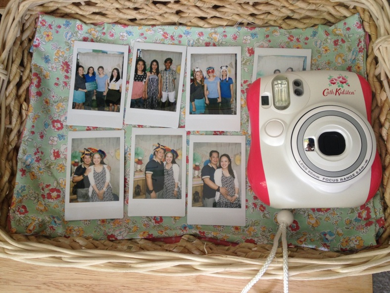 Event Styling: Polaroid Photo Booth by Something Pretty Manila