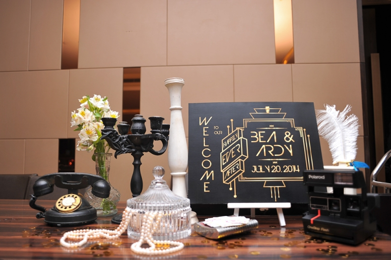 Ardy and Beatriz - Polaroid Photobooth - Something Pretty Manila - Sugarpuff Photography - Event Styling