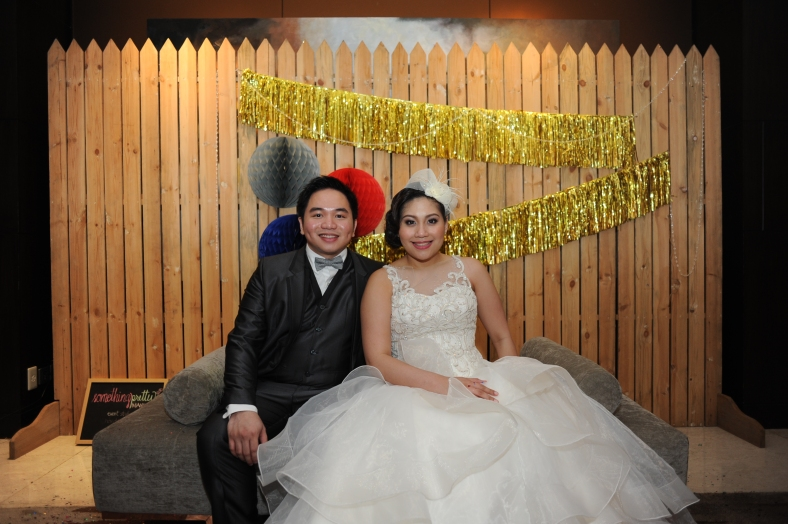 Something Pretty Manila | Gatsby | Wedding Event Styling for Ardy and Beatriz Clavio | Polaroid Photo Booth