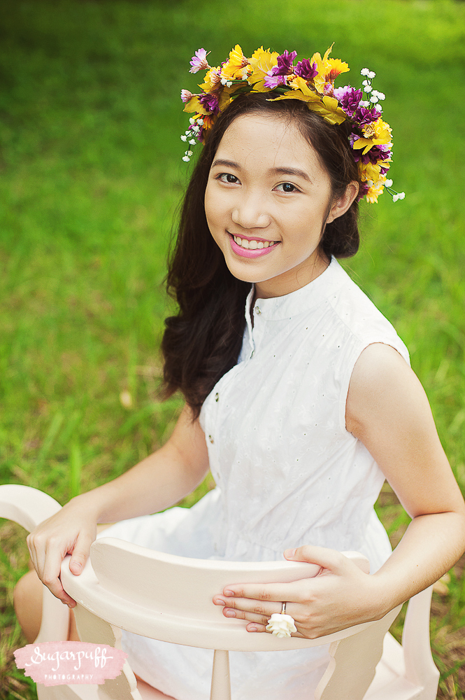 Regine's Pre-debut Shoot - Sugarpuff Photography Something Pretty Manila Styling