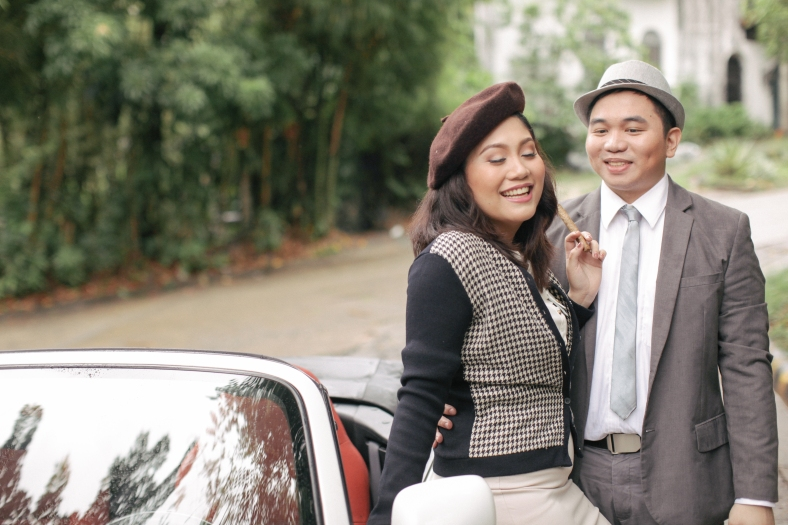Something Pretty Manila Engagement Styling   Bonnie and Clyde