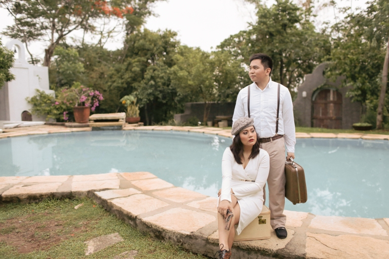 Something Pretty Manila Engagement Styling | Bonnie and Clyde