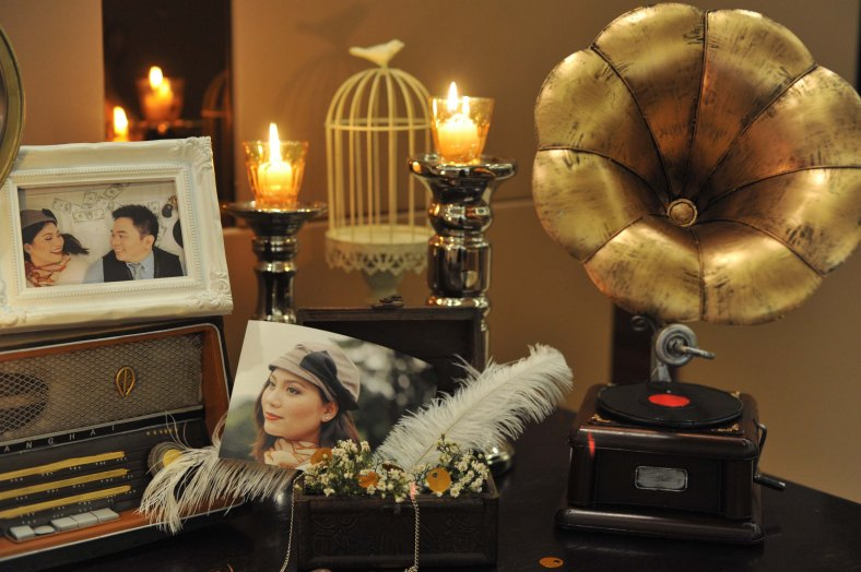 Something Pretty Manila Memorabilia Corner | Gatsby | Wedding Event Styling for Ardy and Beatriz Clavio