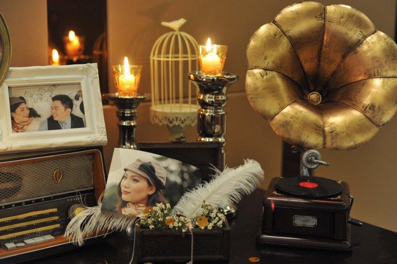 Something Pretty Manila Memorabilia Corner   Gatsby   Wedding Event Styling for Ardy and Beatriz Clavio