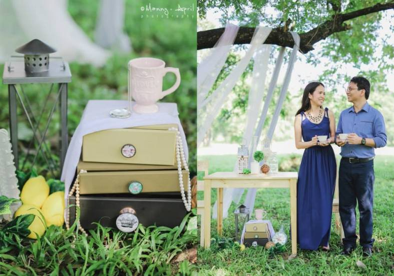 Engagement Shoot Styling by Something Pretty Manila | Mark and Vera