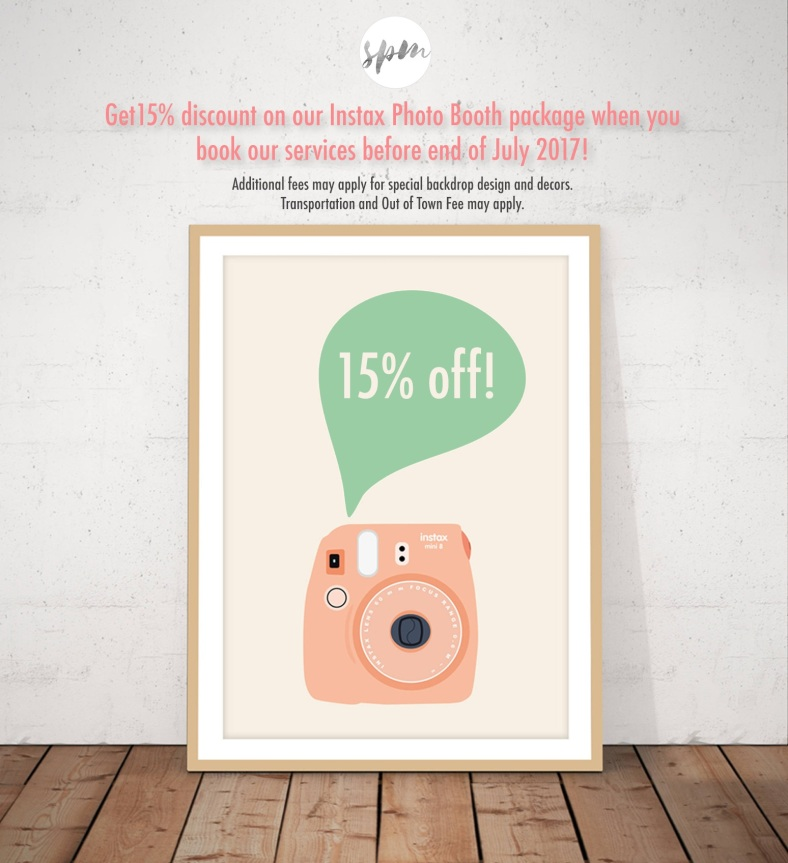 15% Disc on Instax