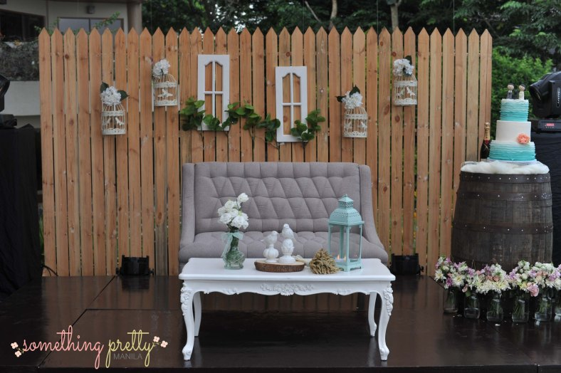 Something Pretty Manila Event Styling - Rustic Wedding