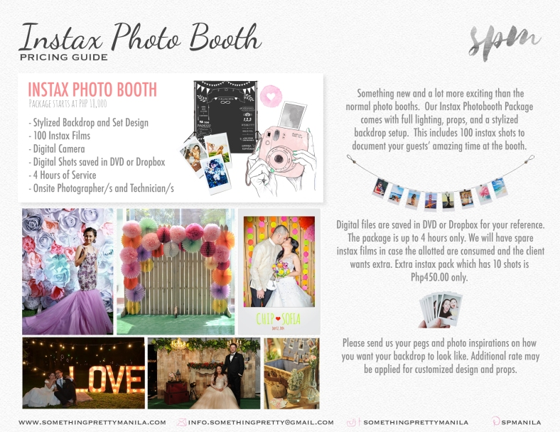 SPM Instax Photo Booth