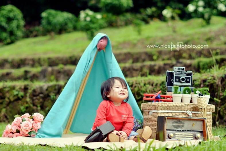Portrait Shoot Styling by Something Pretty Manila | Kiddie Shoot | Nice Print Photography
