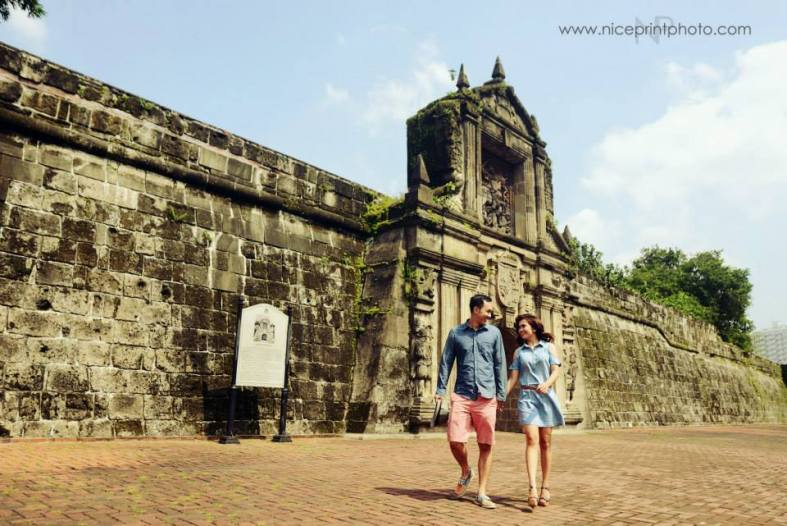 Engagement Styling by Something Pretty Manila | Intramuros | Nice Print Photography