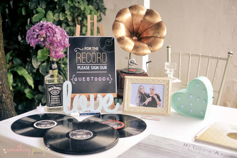 Wedding Event Styling by Something Pretty Manila | Jack Daniel's and Music Theme | Wendel and Ket