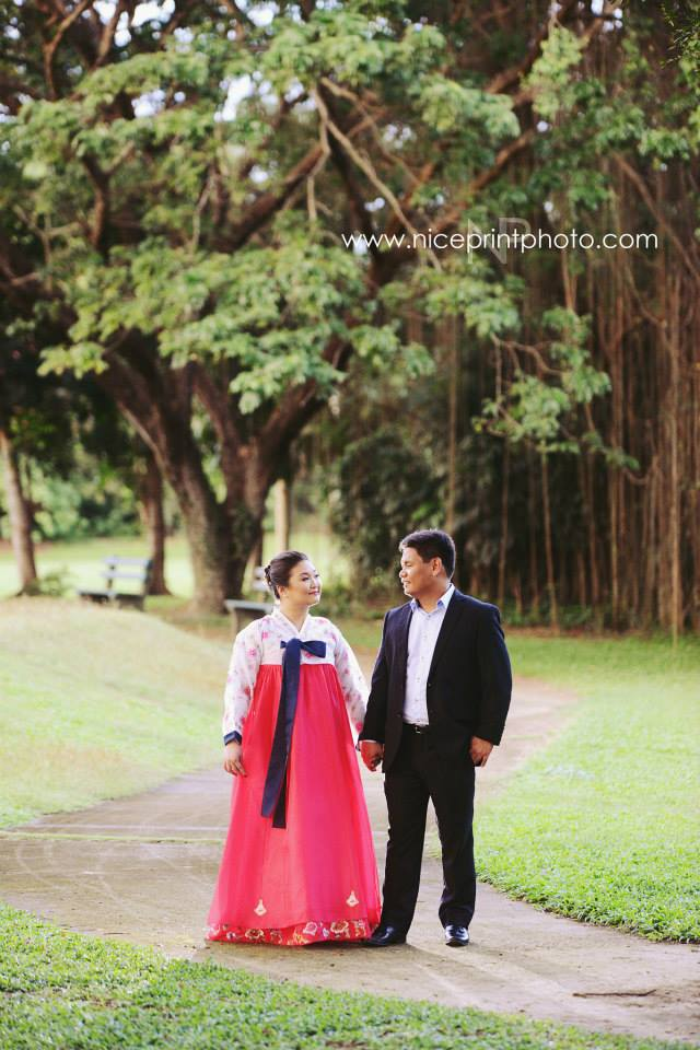 Engagement Shoot Styling by Something Pretty Manila | Jonrae and Cho Rong