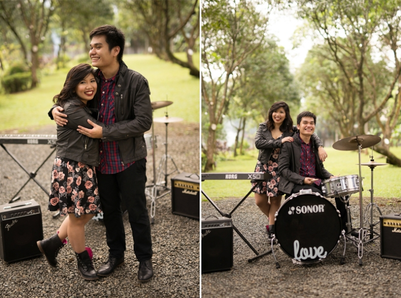 Engagement Styling | Ryan and Dianne