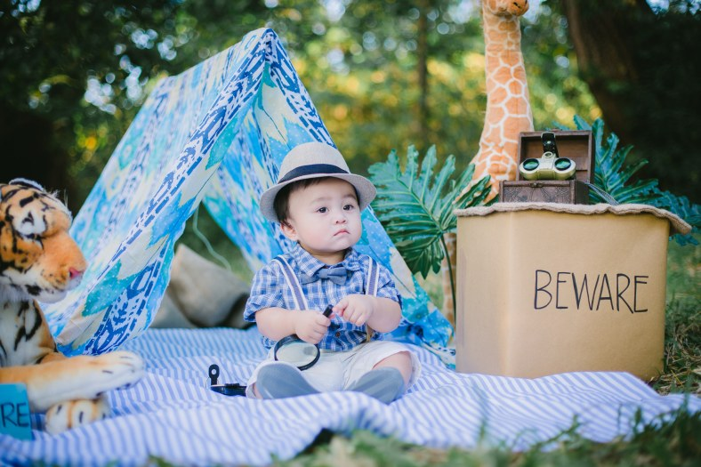 Briel | Baby Safari | Styling by Something Pretty Manila