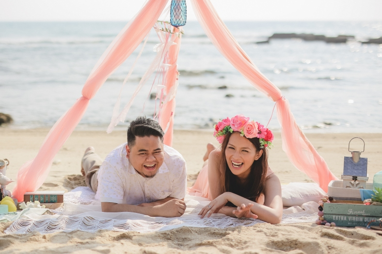 Justin+Maan-Manny and April_Something Pretty Manila | Beach Engagement