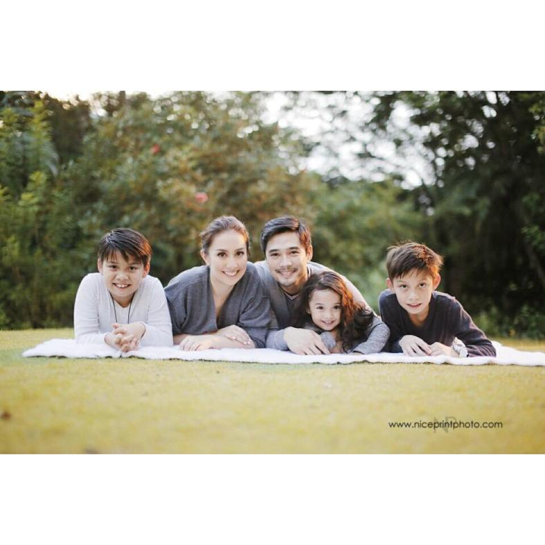 James Blanco Castillo and Family | Styling by Something Pretty Manila