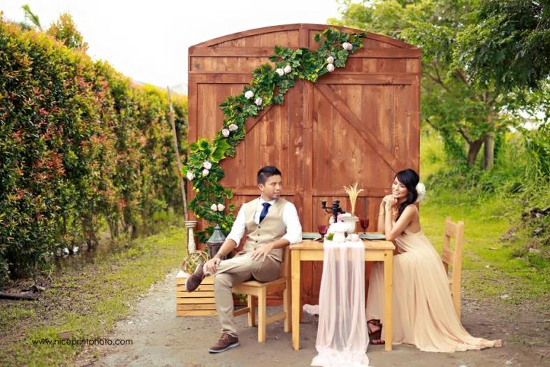 Normann and Wendy Valdez of PBB | Props and Styling by Something Pretty Manila