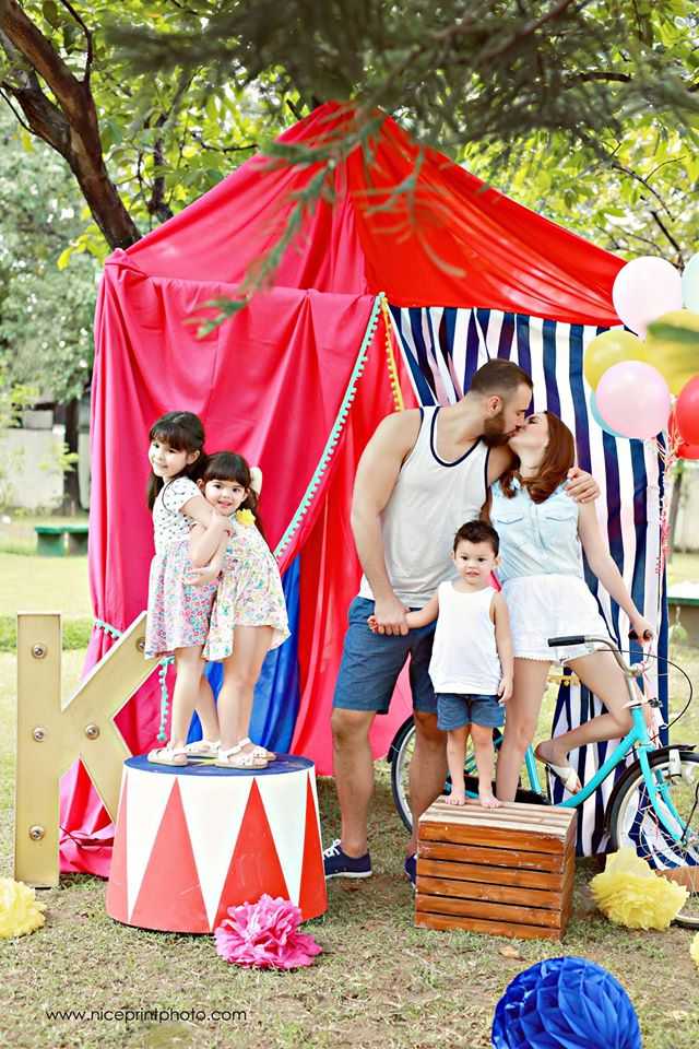 Something Pretty Manila | Holiday Family Styling | Team Kramer | Carnival Theme