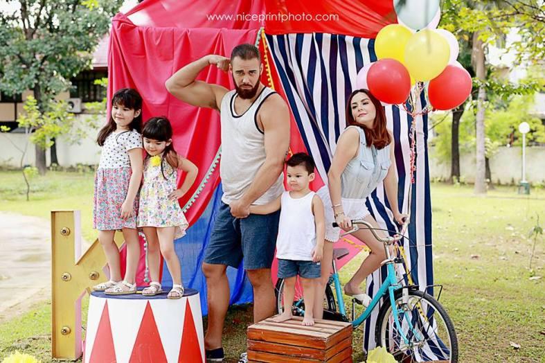 Something Pretty Manila   Holiday Family Styling   Team Kramer   Carnival Theme