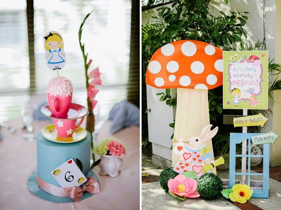 Something Pretty Manila | Birthday Event Styling | Alice in Wonderland Theme